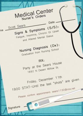 Nursing graduation doodles dabbles dreams invitations filmwisefo