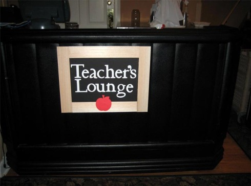 Bar Drink Teachers Lounge