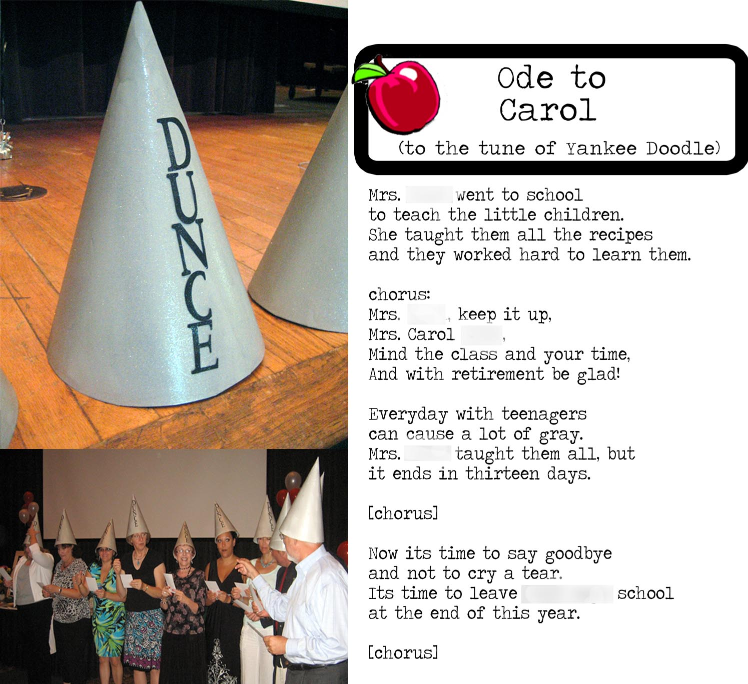 dunce hat template - nursing home activities program ideas happy memorial day 2014