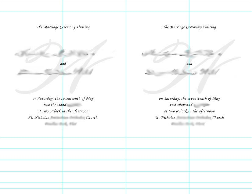 Card stock (for the back) A printer High quality printer paper (linen