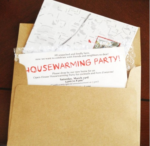 Housewarming Invitation DIY