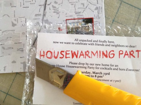 Housewarming Invitation How-to 3