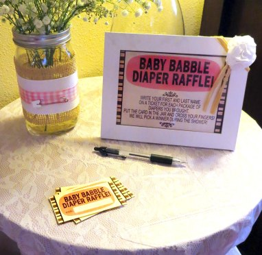 Baby Babble Diaper Raffle Doodles Dabbles Dreams