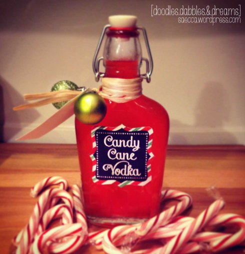 Candy Cane Vodka 3