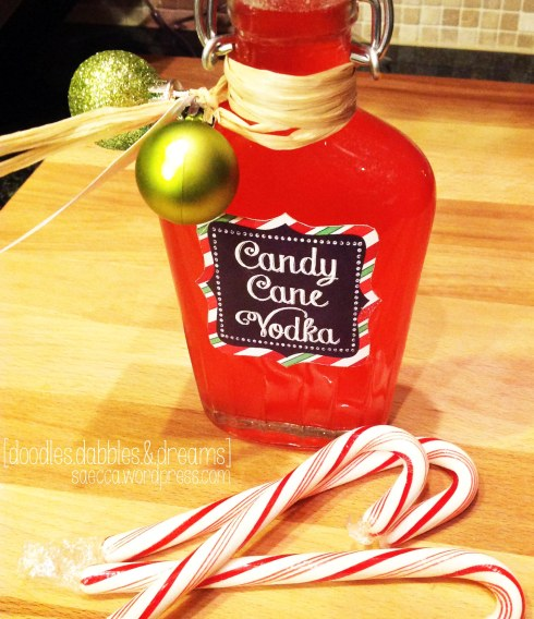 Candy Cane Vodka 4
